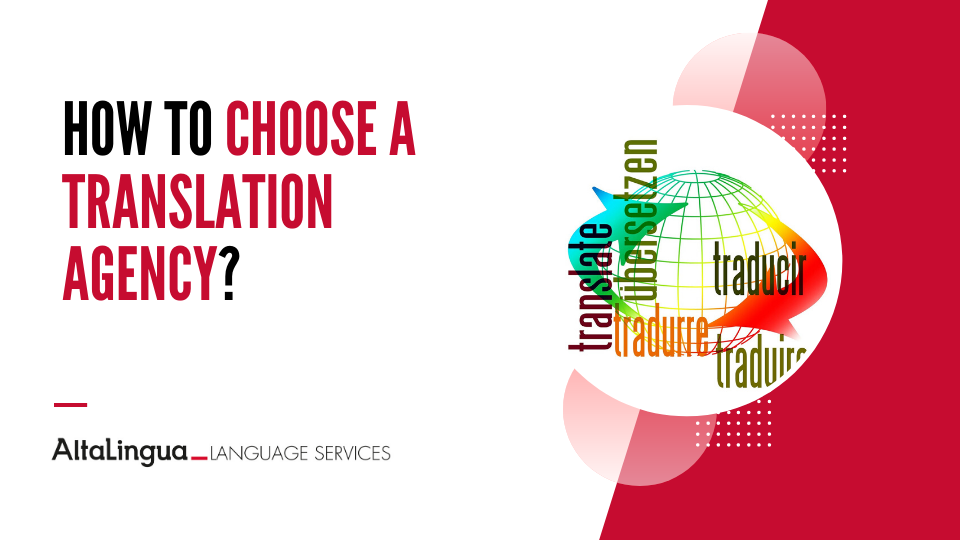 How to choose a translation agency?
